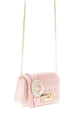 EMBELLISHED ORCHID QUILTED LEATHER BAG SS 2018 MIU MIU | 2 | 5BF068N88F0615