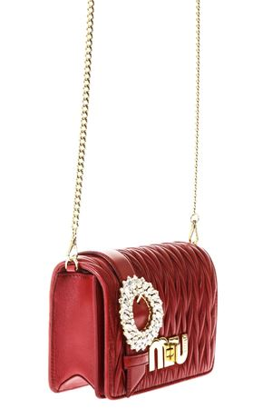 EMBELLISHED FIRE QUILTED LEATHER BAG SS 2018 MIU MIU | 2 | 5BF068N88F068Z