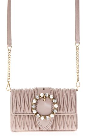CAMEO QUILTED LEATHER SHOULDER BAG SS 2018 MIU MIU | 2 | 5BL001N88F0770