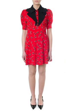 RED DRESS WITH CHERRY PRINT SS 2018 MIU MIU | 32 | MF27871QGKF0011
