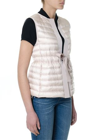LIGHT PINK PADDED VESTS WITH GOOSE FEATHER SS 2018 MONCLER | 28 | 483099453048PERIDOT529