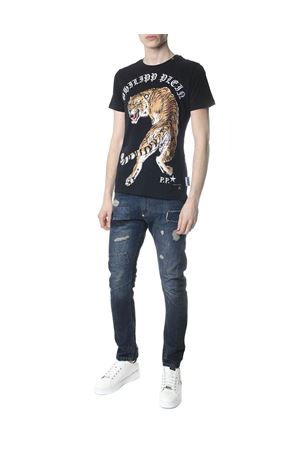 T-SHIRT OUT OF MY HEAD NERA PE 2018 PHILIPP PLEIN | 15 | P18CMTK1944PJY002N02