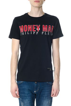 T-SHIRT NERA SEE YOU-S IN COTONE PE 2018 PHILIPP PLEIN | 15 | S18CMTK1888PJY002N02