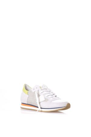Add to cart. TROPEZ WHITE SUEDE & JUTA CANVAS SNEAKERS PHILIPPE MODEL