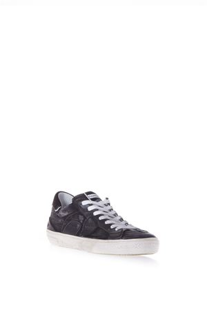 BERCY BLACK LEATHER SNEAKERS SS 2018 PHILIPPE MODEL | 55 | BELUBERCY L U JW02