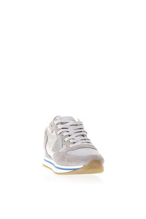 TROPEZ PEARL GREY SNEAKERS IN SUEDE SS 2018 PHILIPPE MODEL | 55 | THLDTROPEZ HIGHERPE06
