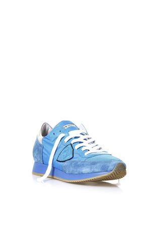 Sneakers Tropez Neon cobalto in camoscio e nylon PE2018 PHILIPPE MODEL | 55 | TRLUTROPEZ LU NEONNT14