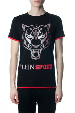 FAST BLACK AND RED T-SHIRT SS 2018 PLEIN SPORT | 15 | P18CMTK2070SJY001N0213
