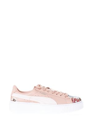 PLATFORM PINK SNEAKERS IN LEATHER SS 2018 PUMA SELECT | 55 | 36612302PLATFORMBEIGE