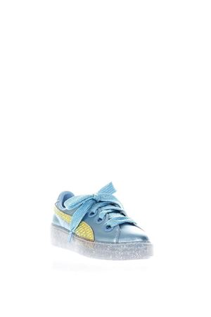 SNEAKERS PUMA X SOPHIA WEBSTER IN PELLE METALLIZZATA PE 2018 PUMA SELECT | 55 | 36613101PLATFORMMETALLIC