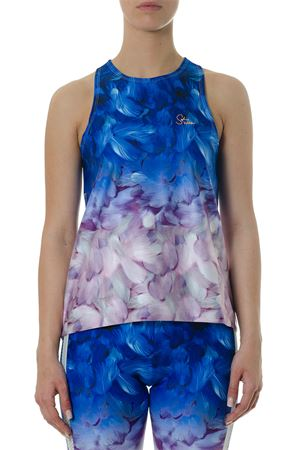 TOP BY SW MULTICOLORE CON STAMPA FLOREALE PE 2018 PUMA X SOPHIA WEBSTER | 13 | 575906871BLU
