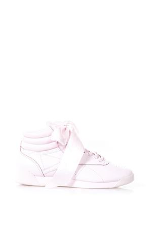 PINK LEATHER SNEAKERS WITH RIBBON ss 2018 REEBOK | 55 | CM8905SATIN BOW1