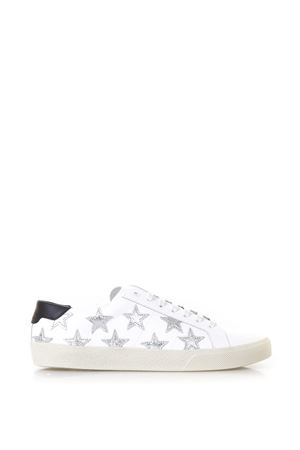 WOLLY SOFT WHITE LEATHER SNEAKERS WITH STARS SS 2018 SAINT LAURENT | 55 | 4191970MP109082