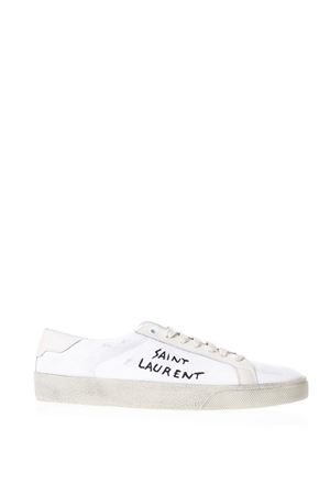 COURT CLASSIC SL/06 WHITE SNEAKERS WITH LOGO SS 2018 SAINT LAURENT | 55 | 472094GUP609142