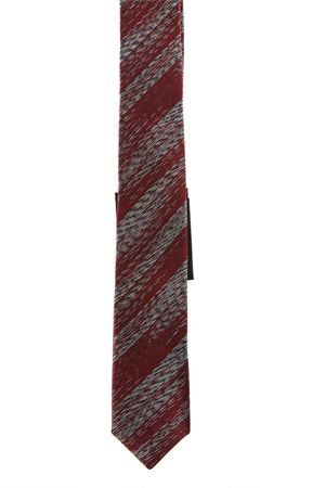 RED AND GREY SILK TIE SS18 SAINT LAURENT | 46 | 4997434Y0021074