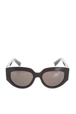 OCCHIALI DA SOLE SAINT LAURENT DONNA IN ACETATO NERO PE 2018 SAINT LAURENT | 225 | 508658Y99011084