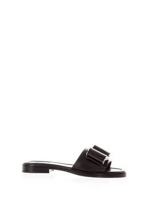 VARA BLACK BOW SANDALS IN LEATHER SS 2018  SALVATORE FERRAGAMO | 87 | 01N402ISERANERO