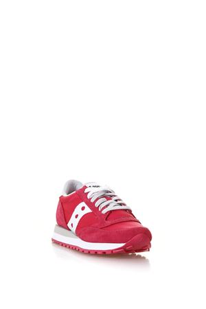 SNEAKERS JAZZ COLOR ROSSO IN NYLON E CAMOSCIO PE 2018 SAUCONY | 55 | 1044/429JAZZ O WRED/WHITE