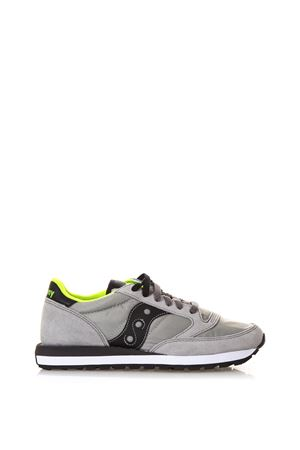 TWO COLOR SUEDE ORIGINALS JAZZ SNEAKERS SS 2018 SAUCONY | 55 | 2044/288JAZZ OGREY/BLACK/CITRON