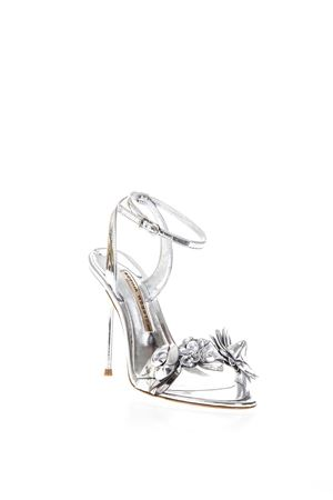 LILICO SILVER LEATHER SANDALS SS 2018  SOPHIA WEBSTER | 87 | SHS160171SILVER