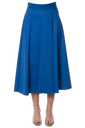 BLU LONG SKIRT PLEATED MODEL SS 2018  SPORTMAX | 26 | FIUMANAUNI004
