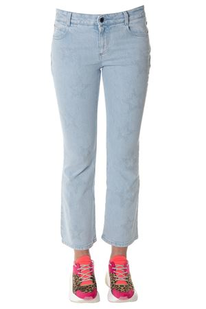 SKY COTTON DENIM WITH STAR PRINTS SS 2018 STELLA McCARTNEY | 4 | 475508SKH324861