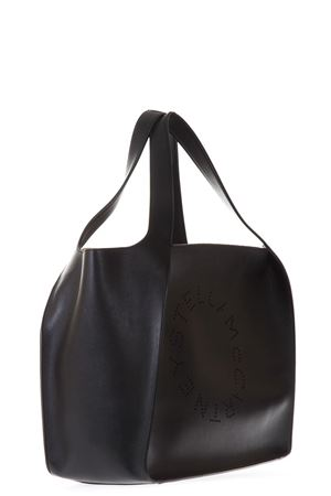 BLACK FAUX LEATHER TOTE BAG WITH LOGO SS 2018 STELLA McCARTNEY | 2 | 502793W99231000