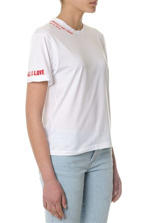 T-SHIRT ALL IS LOVE IN COTONE BIANCO PE 2018 STELLA McCARTNEY | 15 | 512076SKW659000