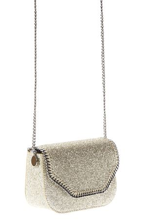 BORSA ORO BRILLANTINATO CON PATTA PE 2018 STELLA McCARTNEY | 2 | 513873W82708001