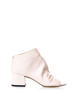 OPEN TOE PHARD NAPPA LEATHER ANKLE BOOTS SS 2018 STEPHEN GOOD LONDON | 52 | SG4027NAPPAPHARD