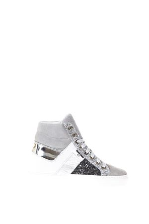 VARIANTE E WHITE GLITTER SNEAKERS IN LEATHER SS 2018 THoMS NICOLL | 55 | 432VARIANTEE