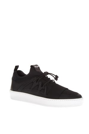BLACK LEATHER & ROPE SNEAKERS SS 2018 THoMS NICOLL | 55 | 436VARIANTENERO