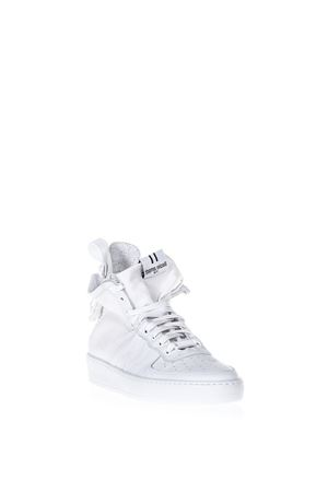 WHITE LEATHER & CANVAS SNEAKERS SS 2018 THoMS NICOLL   55   450 USAVAGE/TESSUTOBIANCO