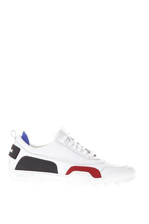 WHITE LEATHER SNEAKERS WITH RUBBER DETAILS SS18 THoMS NICOLL | 55 | 454VARIANTEBIANCO
