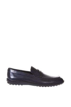 GALASSIA BLU LOAFERS IN LEATHER SS 2018 TOD