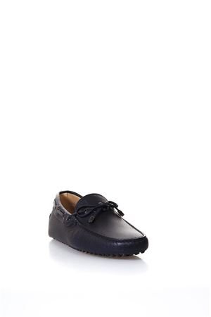 BLU PUDS LEATHER LOAFERS SS 2018 TOD