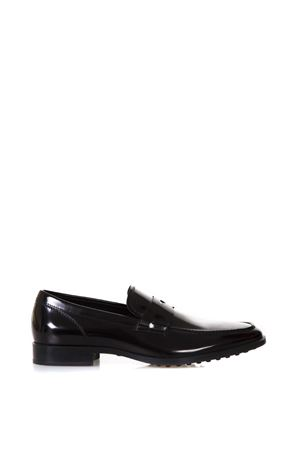 BLACK CLASSIC LOAFERS IN  LEATHER SS 2018 TOD