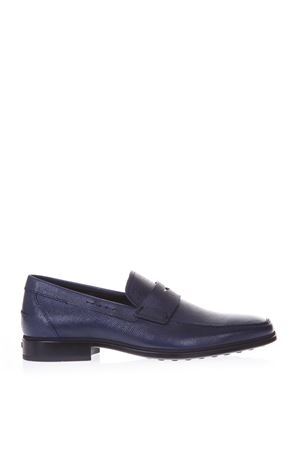 BLU CLASSIC LOAFERS IN LEATHER SS 2018 TOD