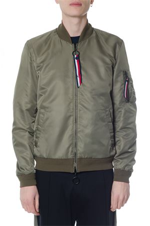 GREEN REVERSIBLE JACKET IN POLYESTER SS 2018 TOMMY HILFIGER | 27 | MW0MW06342BARBADOS619