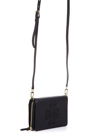 BLACK LEATHER SHOULDER BAG SS 2018 TORY BURCH | 2 | 33005HARPER001