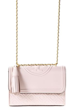 BORSA FLEMING IN PELLE ROSA REVERSIBILE PE 2018 TORY BURCH | 2 | 43834FLEMING SMALL COVERTIBLE652