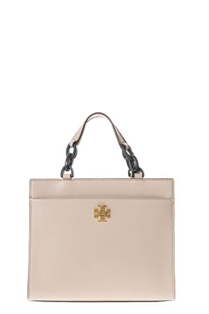 SAND KIRA SMALL TOTE BAG IN LEATHER SS 2018 TORY BURCH | 2 | 45157KIRA SMALL TOTE262