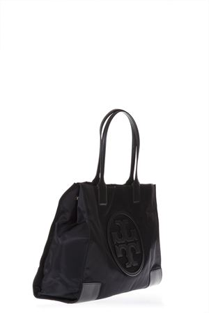 ELLA TOTE BLACK BAG IN LEATHER WITH LOGO SS 2018 TORY BURCH | 2 | 45207ELLA TOTE001