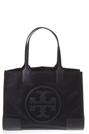 BLACK BAG IN NYLON WITH LOGO SS 2018 TORY BURCH | 2 | 45211ELLA MINI TOTE001