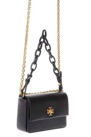 BLACK  KIRA DOUBLE STRAP SHOULDER BAG IN LEATHER TORY BURCH | 2 | 45307KIRA MINI BAG001