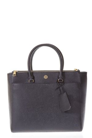 ROBINSON DOUBLE-ZIP BLACK LEATHER TOTE SS 2018 TORY BURCH | 2 | 46332ROBINSON DOUBLE-ZIP TOTE018