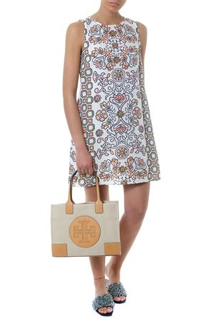 MULTICOLOR HICKS GARDEN DRESS SS 2018 TORY BURCH | 32 | 48719HICKS GARDEN671