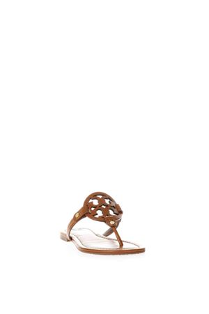 MILLER TAN LEATHER FLIP-FLOP SANDALS SS 2018 TORY BURCH | 87 | 50008694MILLER204