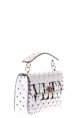 SPIKE WHITE QUILTED LEATHER BAG SS 2018 VALENTINO GARAVANI | 2 | PW0B0122XQC0VP
