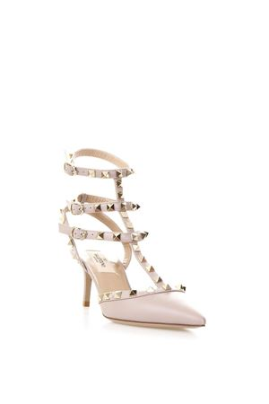NUDE ROCKSTUD LEATHER PUMPS ss 2018 VALENTINO GARAVANI | 68 | PW2S0375VODP45